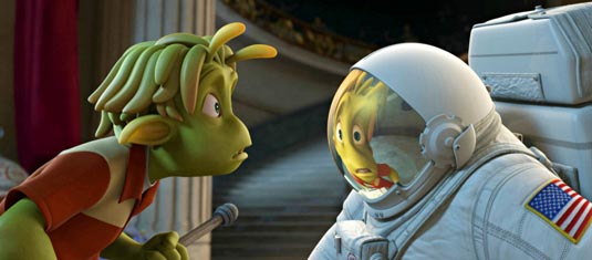 """Astronaut Charles """"Chuck"""" T. Baker discovers HE is the alien."""