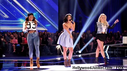 Girls United X Factor Four Chair Challenge