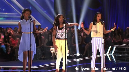 Glamour X Factor Four Chair Challenge