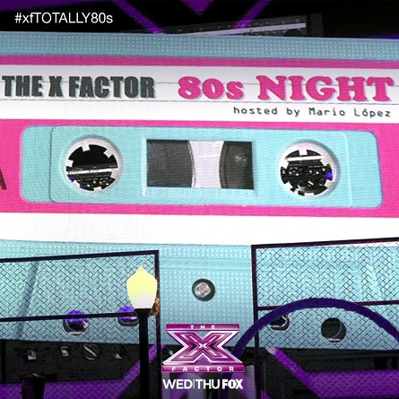 The X Factor USA - 80s week