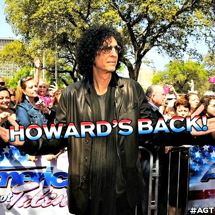 AMERICA'S GOT TALENT judge Howard Stern