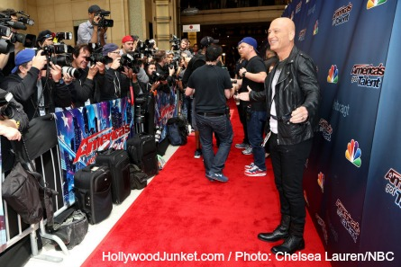 AGT, Howie Mandel at Dolby Theatre