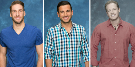 The Bachelorette, Shawn B, Tanner, Shawn E