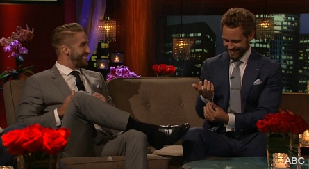 Pictured (l-r): Shawn Booth, Nick Viall