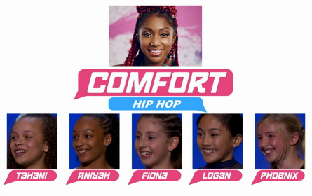 SYTYCD 2016, All-Stars Team Comfort