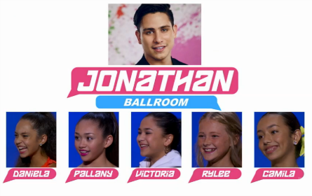 SYTYCD 2016, All-Stars Team Jonathan