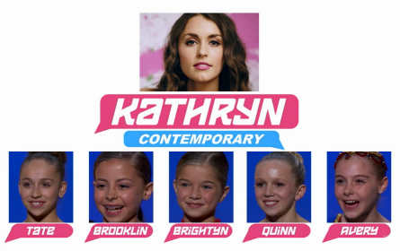SYTYCD 2016, All-Stars Team Kathryn