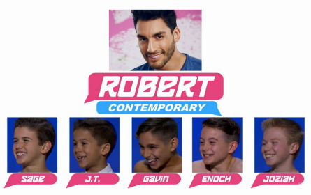 SYTYCD 2016, All-Stars Team Robert