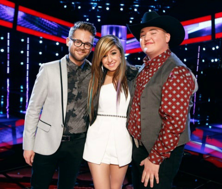 The Voice season 6 final three