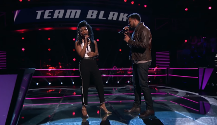 The Voice 11 Battles, Courtney Harrell vs Ethan Tucker