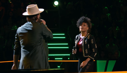 The Voice 11 Battles, Lane Mack vs. Sophia Urista