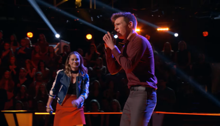 The Voice 11,  Natasha Bure vs Riley Elmore