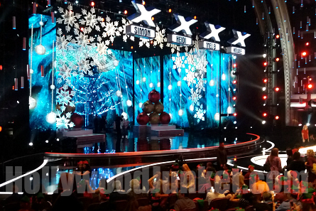 AGT 11 Holiday stage