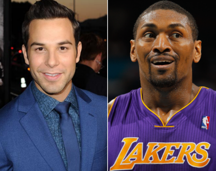 Lip Sync Battle season 3, Skylar Astin vs Metta World Peace