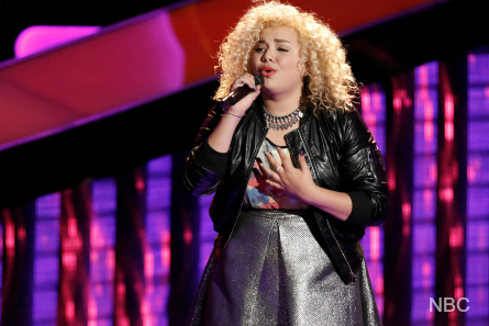 The Voice season 12, Blind Audition, Aaliyah Rose