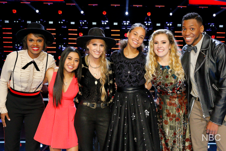 Voice 12 Knockouts Team Alicia
