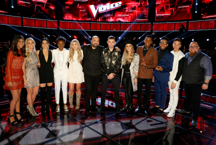 The Voice 12 Top 12 artists