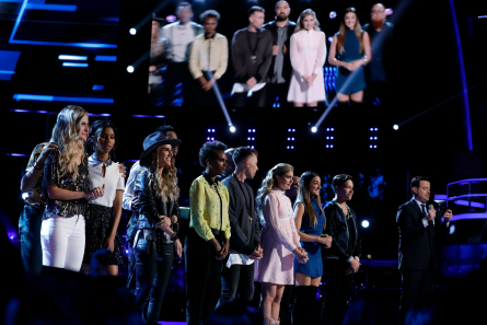 The Voice 12, Top 12 Results