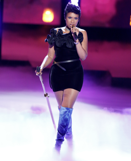 The Voice 12 finale, Jennifer Hudson