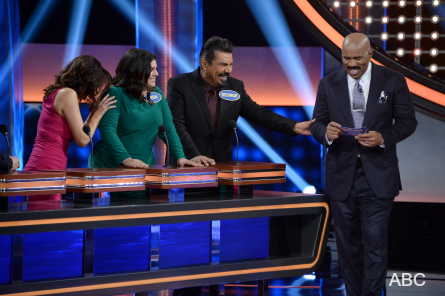 Celebrity Family Feud 3, George Lopez