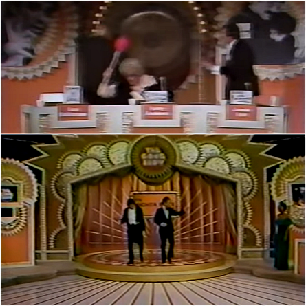 Original The Gong Show stage