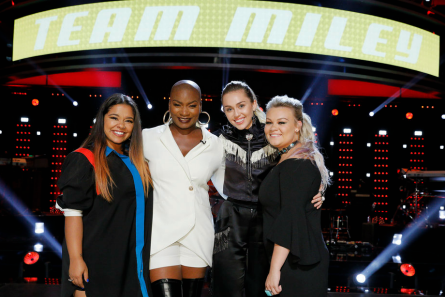 The Voice 13 Playoffs, Team Miley Live Shows, NBC
