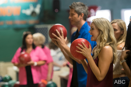 The Bachelor 22 week 5 Arie bowling