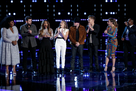 The Voice 14 Semi Finals, Results Top 8