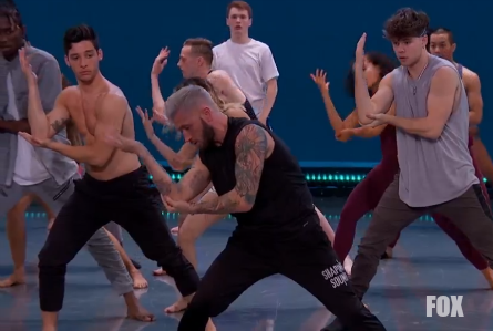 SYTYCD 15 Academy week 2, Travis Wall