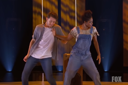 SYTYCD 15 Top 10 Live Show 2, Evan and Chelsea