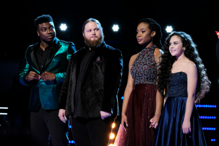 The Voice 15 finale Top 4