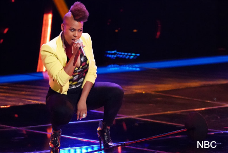 The Voice 16 blind auditions week 1, Lisa Ramey
