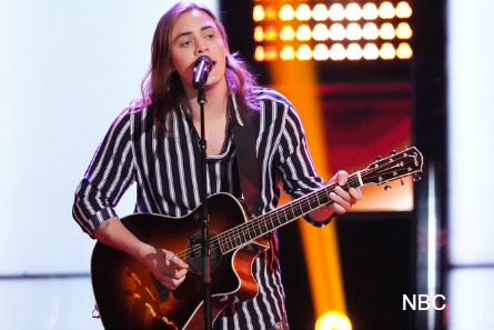 The Voice 16 blind auditions week 2, Jacob Maxwell