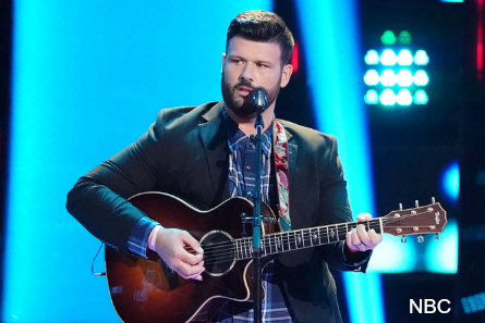 Voice 16 blind auditions week 4, Rod Stokes
