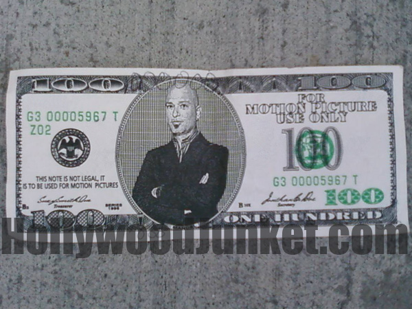 Howie Mandel fake money.