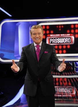 """Million Dollar Password"" host, Regis Philbin"