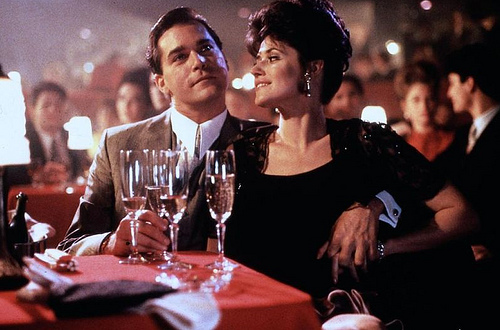 """A scene used from """"Goodfellas"""" in the game show."""