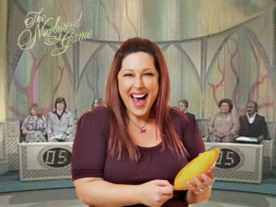 "Host, Carnie Wilson, host the new version of ""The Newlywed Game""."