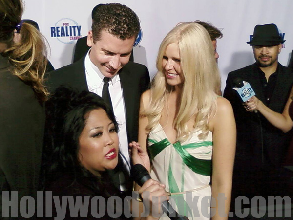 "H.J. host interviews ""House Husband"", Danny at FOX's REALLY AWARDS."