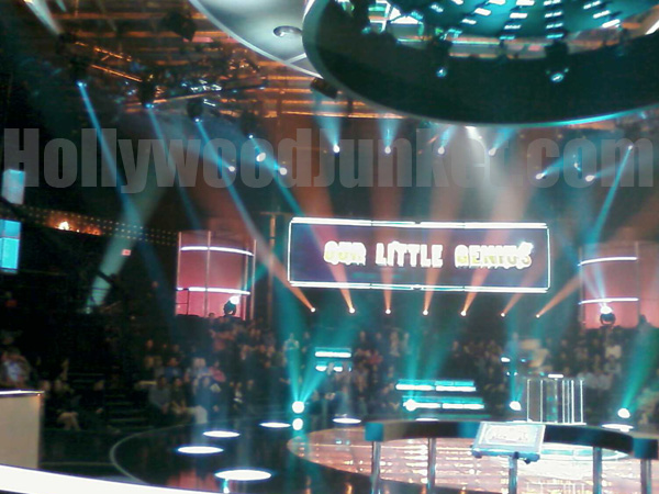 """""""Our Little Genius"""" stage."""