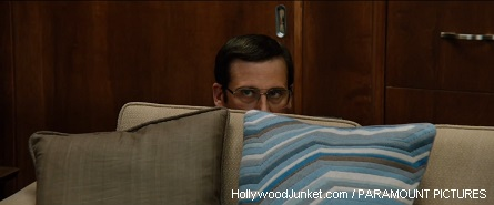 "Steve Carell as ""Brick Tamland"""