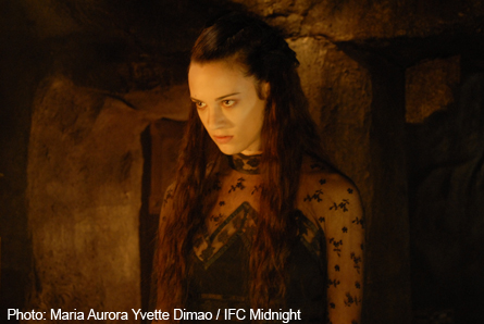 Pictured: Asia Argento as the undead Lucy.