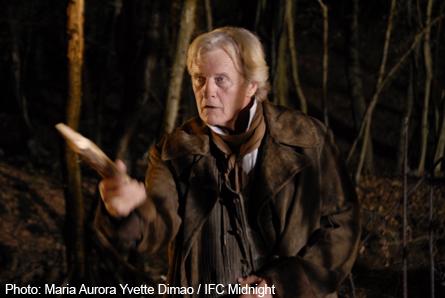 Pictured: Rutger Hauer as Van Helsing.