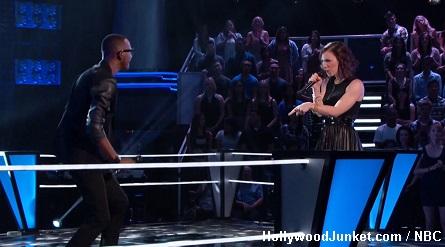 The Voice R. Anthony vs. Kat Robichaud