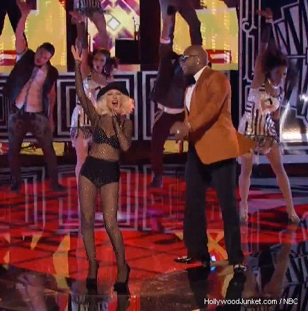 The Voice Christina Aguilera, Flo Rida