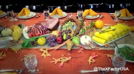 The X Factor USA, Thanksgiving
