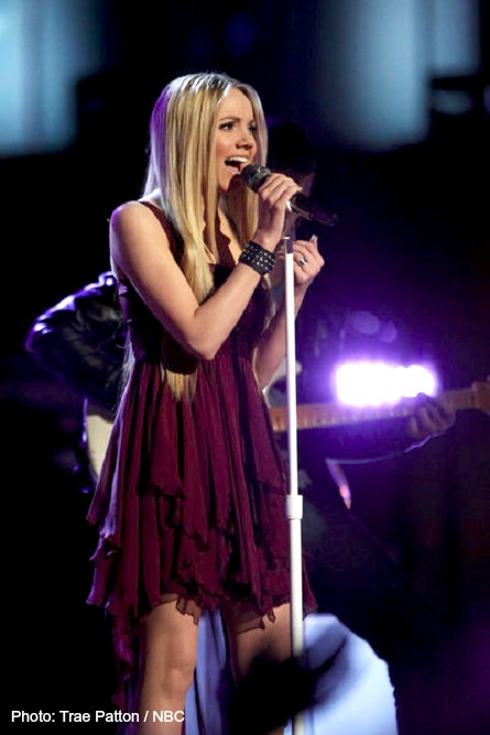 The Voice, Danielle Bradbury