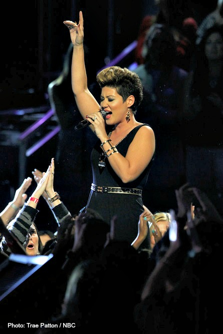 THE VOICE Tessanne Chin