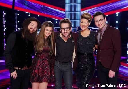 The Voice Season 5 Top 5