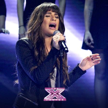 The X Factor USA Season 3 Finale - Lea Michele
